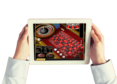 ruleta casino tablet