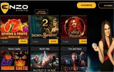 Bonos de giros gratis Enzo Casino