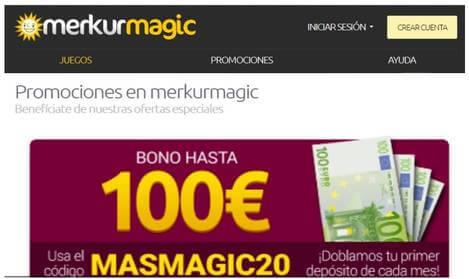 Merkurmagic bono de 100 euros