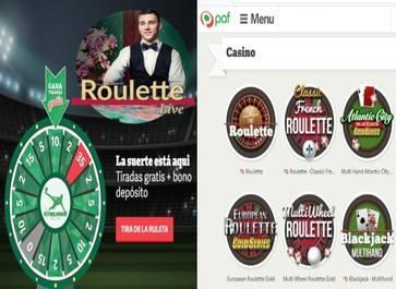 Por primer registro en casino Paf hay 35 tiradas y 10 euros