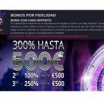 Bono de fidelidad hasta por 500 euros Casino Disco