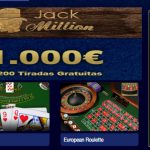 Lunes de giros gratis Casino Jack Million