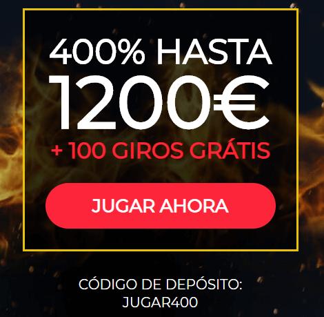 Bono 1.200 euros SpinUp