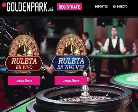 goldenpark ruleta en reseña