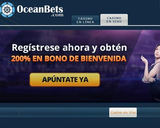 oceanbets bono bienvenida