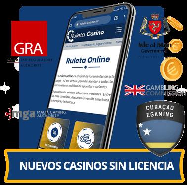nuevos casinos online sin licencia en españa